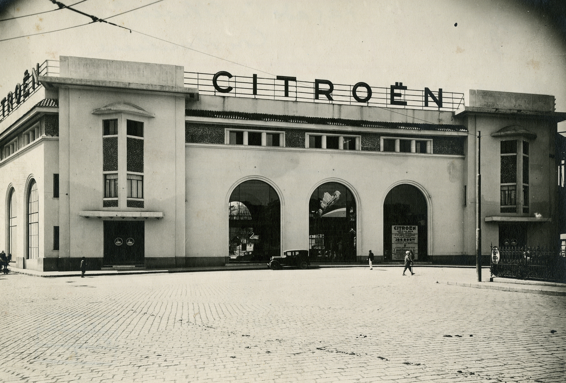 Ancien garage citro n constantine archives d for Garage citroen crepy en valois